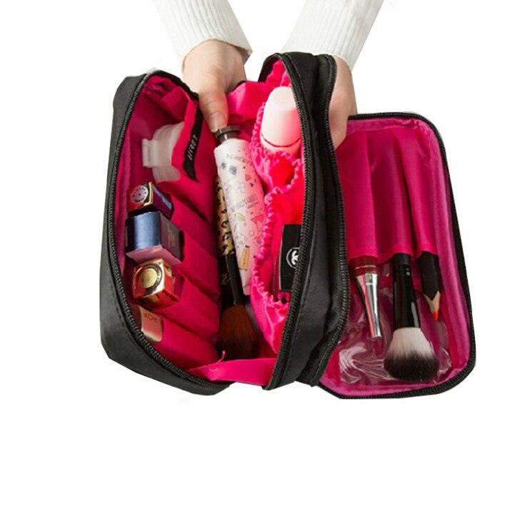 Для женщин Дорожные сумки составляют организации хранения Красота Косметические милые леди стирка для хранения сумки мешок аксессуары
