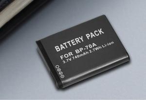 Image 5 - BP 70A EA BP70A IA BP70A BP70A IABP70A bateria do Samsunga AQ100, DV150F, ES65, ES67, ES70, ES71, ES73, ES74, ES75, ES80, MV800 ES90