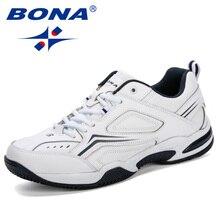 BONA Tenis Masculino; мужская Профессиональная теннисная обувь; дышащая Спортивная обувь; нескользящие кроссовки; удобные спортивные кроссовки для фитнеса
