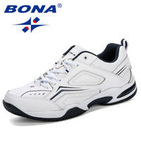 BONA Tenis Masculino Men Professional Tennis Shoes Breathable Sport Shoes Anti Slippery Sneakers Fitness Athletic Trainers Comfy