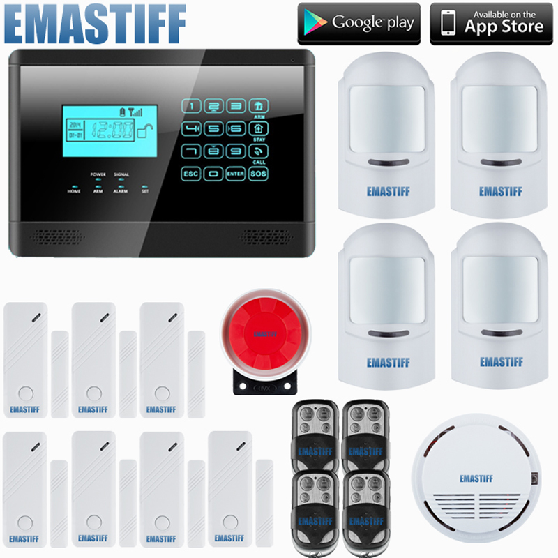 HOMSECURITY Touch Keypad Wireless GSM Home Security Alarm System Kit+4 pet Motion detector+7 Door Sensors 13500mah 12v multi function mobile power bank tablets notebook phone ca r auto eps starter emergency start power