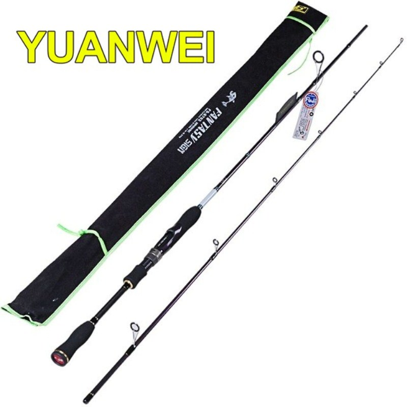 YUANWEI 1.8m,2.1m,2.4m Spinning Fishing Rod 99% Carbon ML/M/MH IM8 Vara de Pesca Lure Fishing Tackle Canne A Peche Fishing Pole original bluedio t2s bluetooth headphones with microphone wireless headset bluetooth for iphone samsung xiaomi headphone
