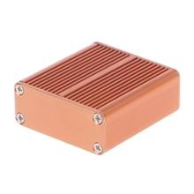 DIY алюминиевый чехол электронный проект PCB ящик для инструментов 45x45x18,5 мм подходит для электронных проектов, блоков питания