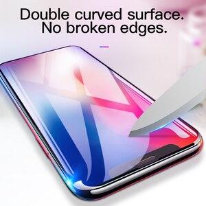 Image 3 - Hoco para apple iphone x xsmax xr hd cheio de filme vidro temperado protetor de tela cola protetora 3d cobertura completa proteção da tela