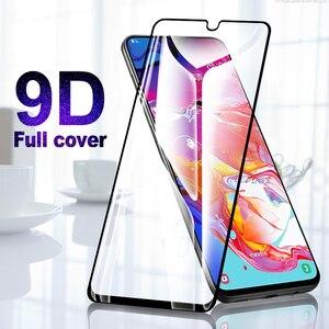 Image 2 - 9D מלא כיסוי מזג זכוכית עבור Samsung Galaxy A40 A50 A70 מסך מגן עבור סמסונג A30 A20 A10 M10 M20 m30 מגן סרט
