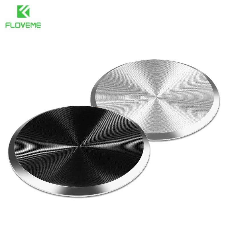 FLOVEME Magnetic Disk For Car Phone Holder Iron Sheet Universal Metal Plate For Magnet M ...