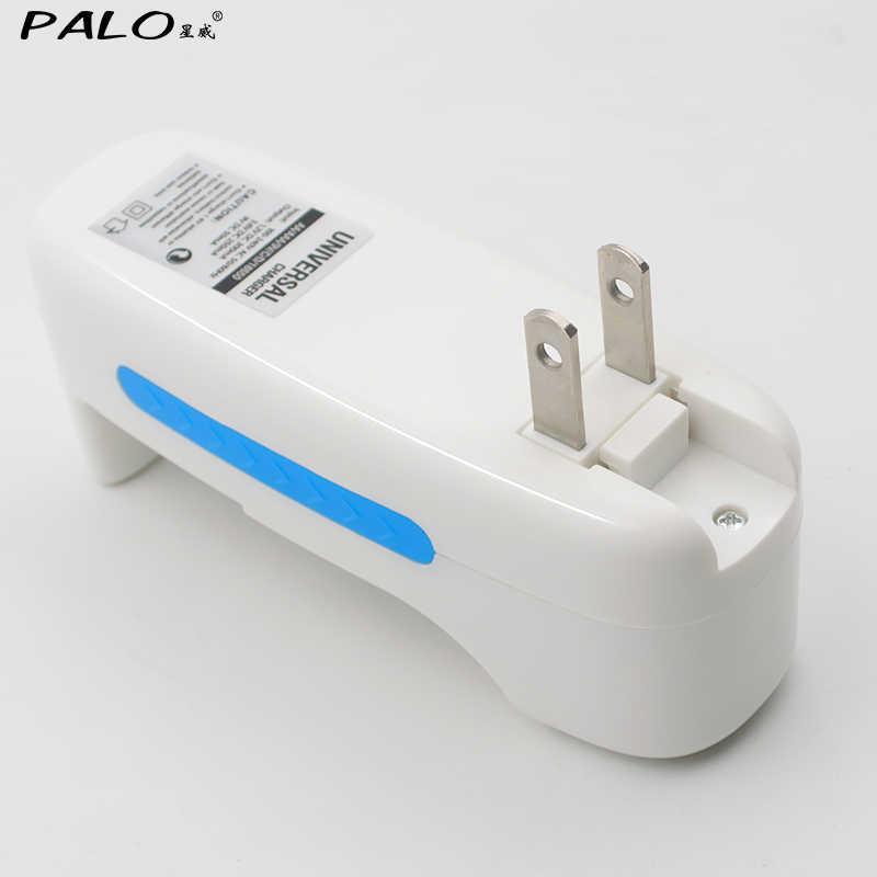PALO многофункциональное зарядное устройство для литий 18650 17650 16500 14500 9 V 6F22 для NI-CD металл-гидридных или никель зарядное устройство для никель-кадмиевых или никель-металл-AAA Перезаряжаемые батареи