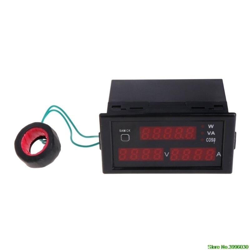DL69-2048 Multifunctional AC Voltmeter Ammeter Voltage Current Meter AC 80-300V
