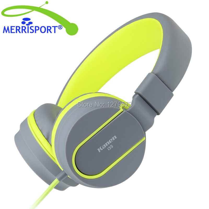 Headphones, MERRISPORT Headphones for Kids Adult with Microphone In-line Volume for iPhone 6/6S Xiaomi Android Device MP3/4 Grey social housing in glasgow volume 2