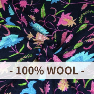 Image 5 - Wool Square Head Scarves Women Elegant Carf Warm Shawl Stoles Bandana Scarf Hijab Beach Blanket Face Shield Pashmina Cape Islam