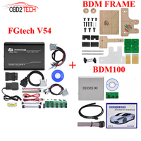 Bdm Rahmen + BDM100 + Fgtech Galletto 4 Master v54 FG Tech BDM-TRICORE-OBD Unterstützung BDM funktion ECU Programming Tool