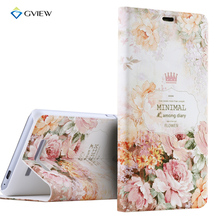 Luxury PU Leather 3D Relief Printing Stereo Feeling Smart Flip Cover Case For xiaomi Redmi Note 3 Pro Prime Stand Phone Bag