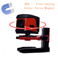 XEAST Laser level bracket 1/4 5/8360 degrees fine super strong magnet pulls L bracket leveling support for universal Laser leve
