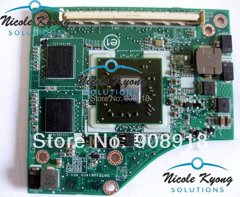 31TE1VB00C0 32TE1VB00A0 32TE1VB00H0 216-0707001 DATE1UB18C0 REV:C HD3470 VGA Video Card For TOSHIBA M300 U400 P300 A300D P300D