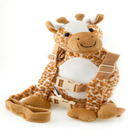 Harness Buddy Giraffe 2 in 1 Baby Backpack Safe Walking Reins for Children Aged from 1 to 3