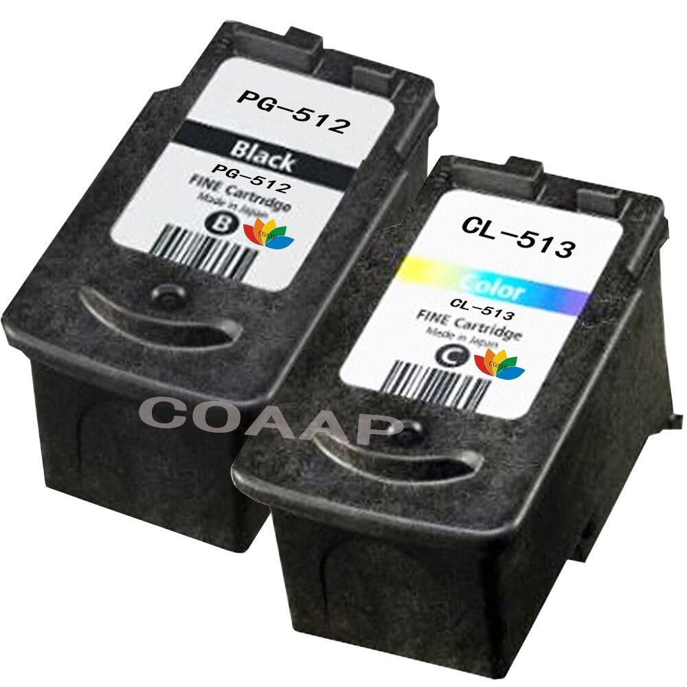 1 Set Compatible PG 512 CL 513 cartouche d'encre pour Canon PG-512 CL-513 pour Pixma MX410 MX420 MP492 MP495 MP499