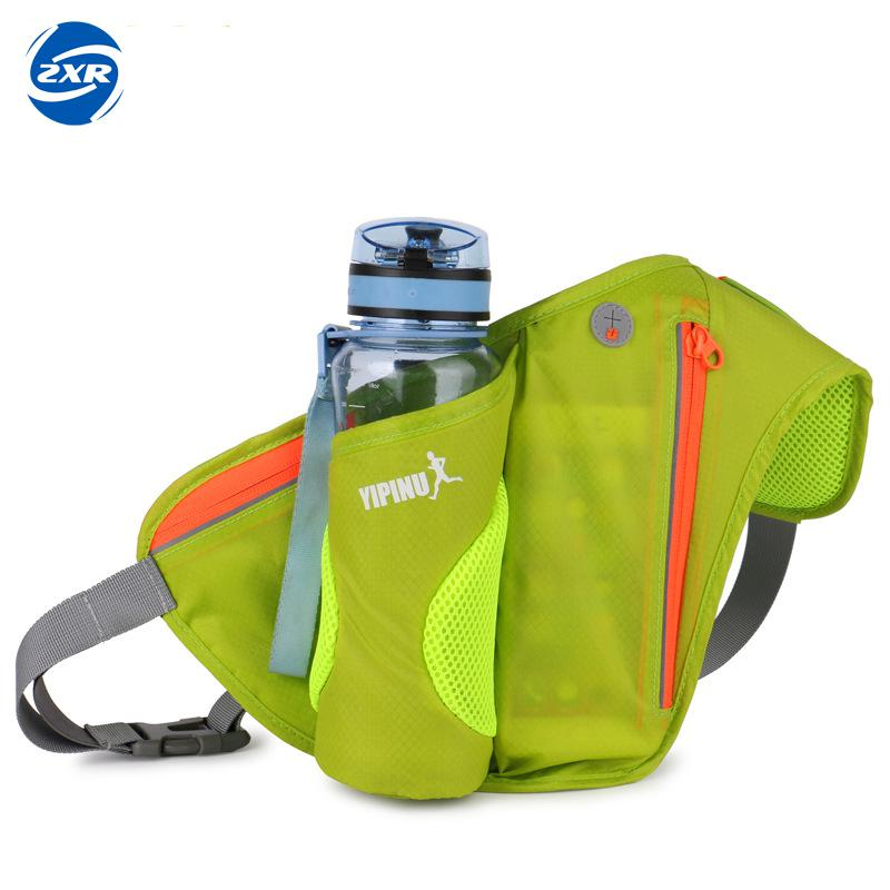 Women Waist Bags Sports Water Bottle Holder Outdoor Running Belt Bag Waist Bag Backpack Key Stuff Waist Pack Hiking Pockets Bag