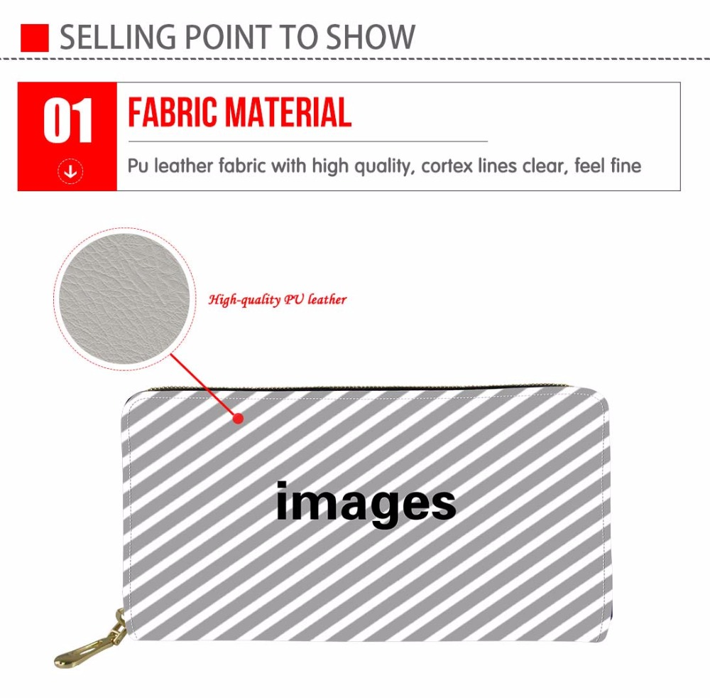 Thikin Women Wallet Men Purse African Coin Purses&Holders for Ladies Rfid PU Leather Wallets Female Purses&Wallets Coin Purse