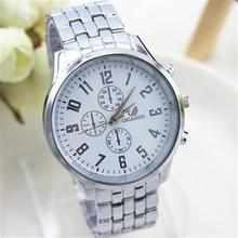 NEW Fashion Mens Watches Top Brand Luxury High quality Quartz Watch Fashion Stainless steel watches Free shipping