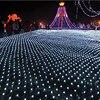 Kmashi 4 6M 672LED Net Light Fairy Fishing Mesh Net String Lighting Outdoor Party Christmas Wedding