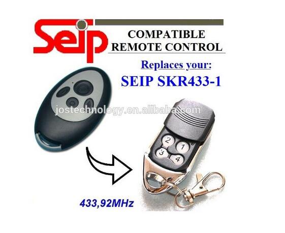 Compatible remote replace for seip SKR433-1 433,92mhz remote free shipping seip skr433 1 replacement 433 92mhz remote control dhl free shipping
