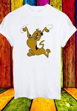 Scooby-Doo Shaggy Fred Velma and Daphne Cartoon Men Women Unisex T-shirt 843 New T Shirts Funny Tops  free shipping