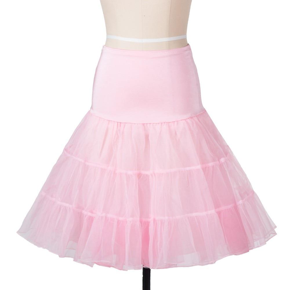 14 Färg Petticoat Kvinna 3 Layer Girls Underskirt Tutu Crinoline - Bröllopstillbehör - Foto 5