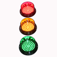 WDM 125mm Hong Kong Traffic Light Lamp For Sale 3 Color Available