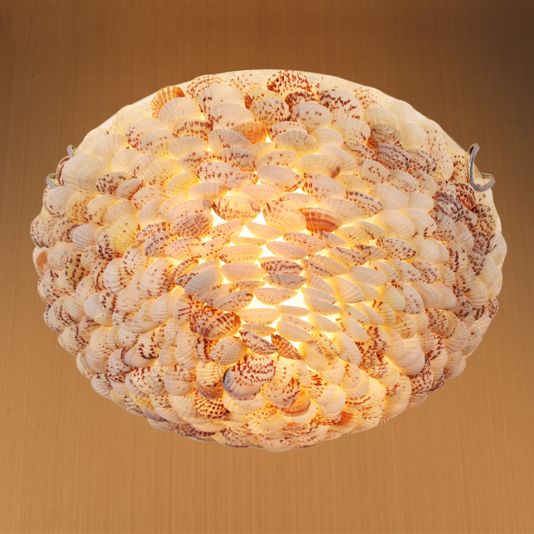 Mediterranean style natural shell ceiling lights Brief rustic shell ceiling lamps bedroom living room lamp e27 bulb lampMediterranean style natural shell ceiling lights Brief rustic shell ceiling lamps bedroom living room lamp e27 bulb lamp
