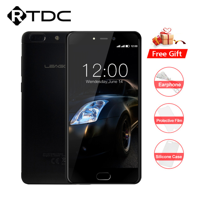 "Original Leagoo T5 4G LTE Mobile Phone Android 7.0 MT6750T Octa Core 5.5""FHD 4GB RAM 64GB ROM 13MP Real Dual Cameras Fingerprint"