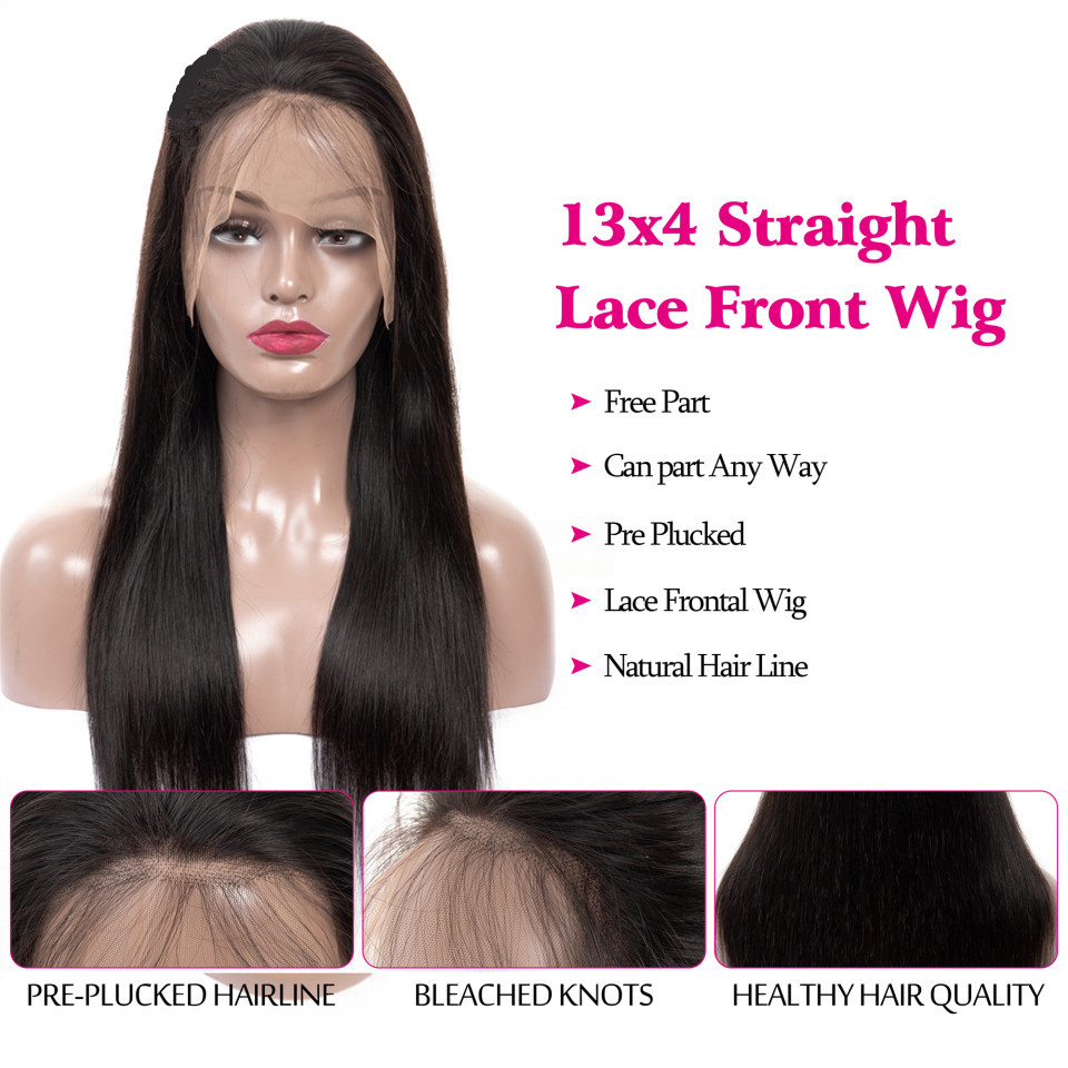 Brazilian-Lace-Front-Human-Hair-Wigs-For Black Women