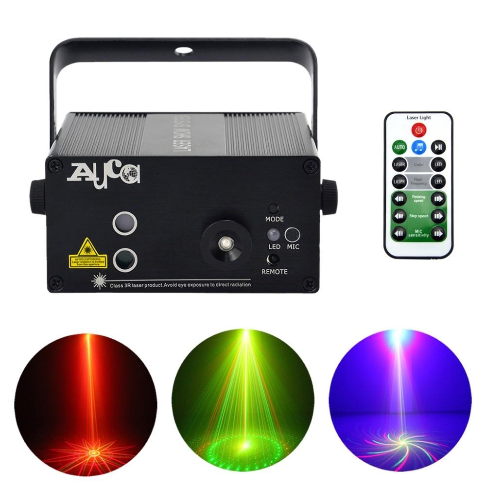Mini Proiettore Laser Effetto Luci.Aucd Mini 9 Grande Gobo Rg Proiettore Laser Luci 3 W Sfondo Blu Led