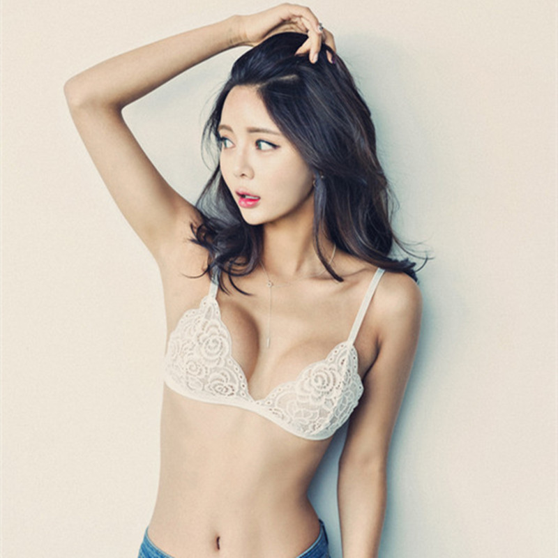 NEW Sexy Womens Floral Lace Bralette Bra Top brasier mujer ...