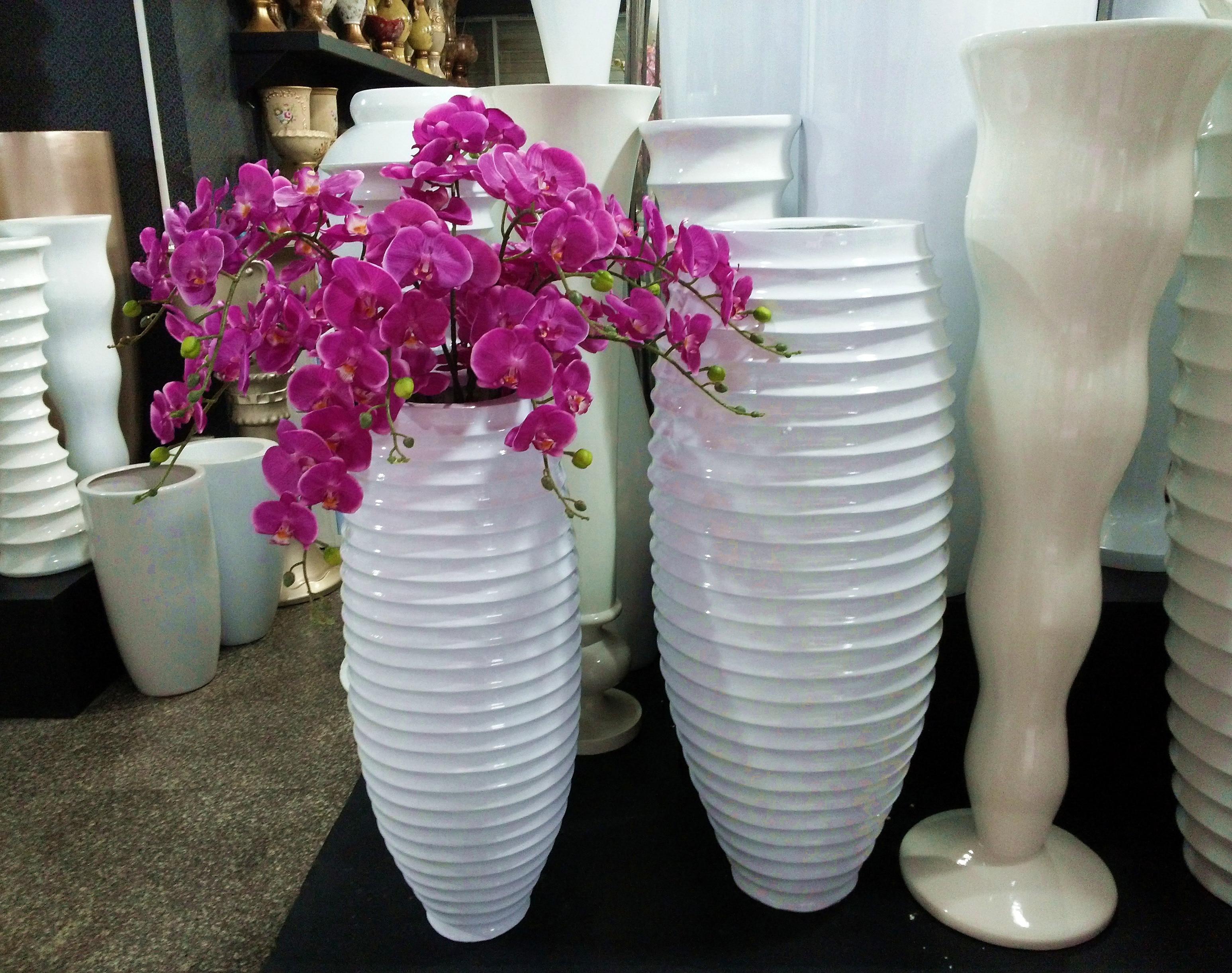 u zuhause modernen kurze wei en faden vase franz sisch eingestellt mode gro e dekoration in u. Black Bedroom Furniture Sets. Home Design Ideas