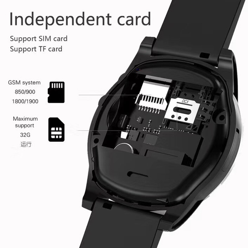 SW98 Smart Watch Support SIM Card Pedometer Camera Bluetooth Smartwatch for  Android Phone PK Y1 A1 DZ09 Wristwatch