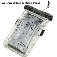 Waterdichte Tas Mobiele Telefoons Pouch Voor Huawei Honor Magic/Play/10 GT/V9 Spelen Dry Case Cover touch Screen Water Sport Zwemmen Zak(China)