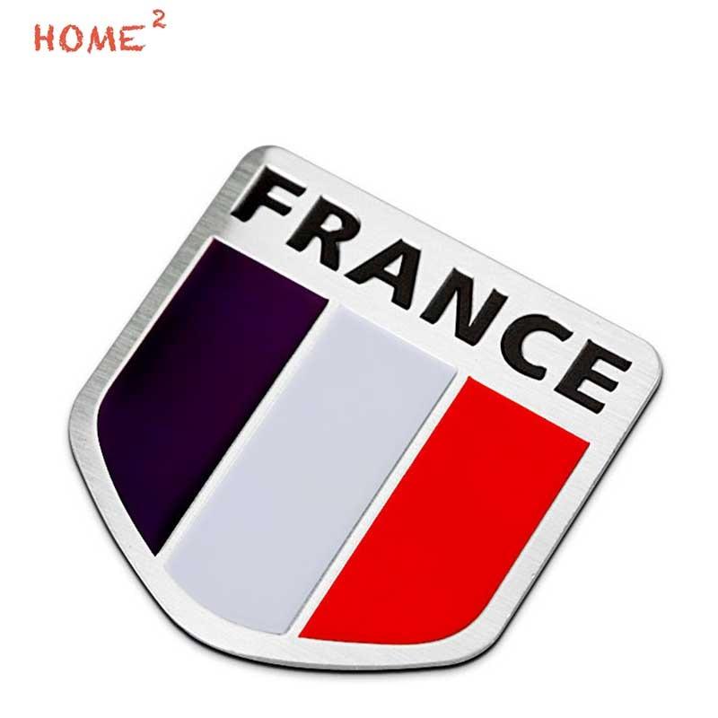 Frankreich Flagge Meta Auto Aufkleber Für Alfa Romeo Daihatsu Dacia Abarth Jeep Lada Mitsubishi Kia