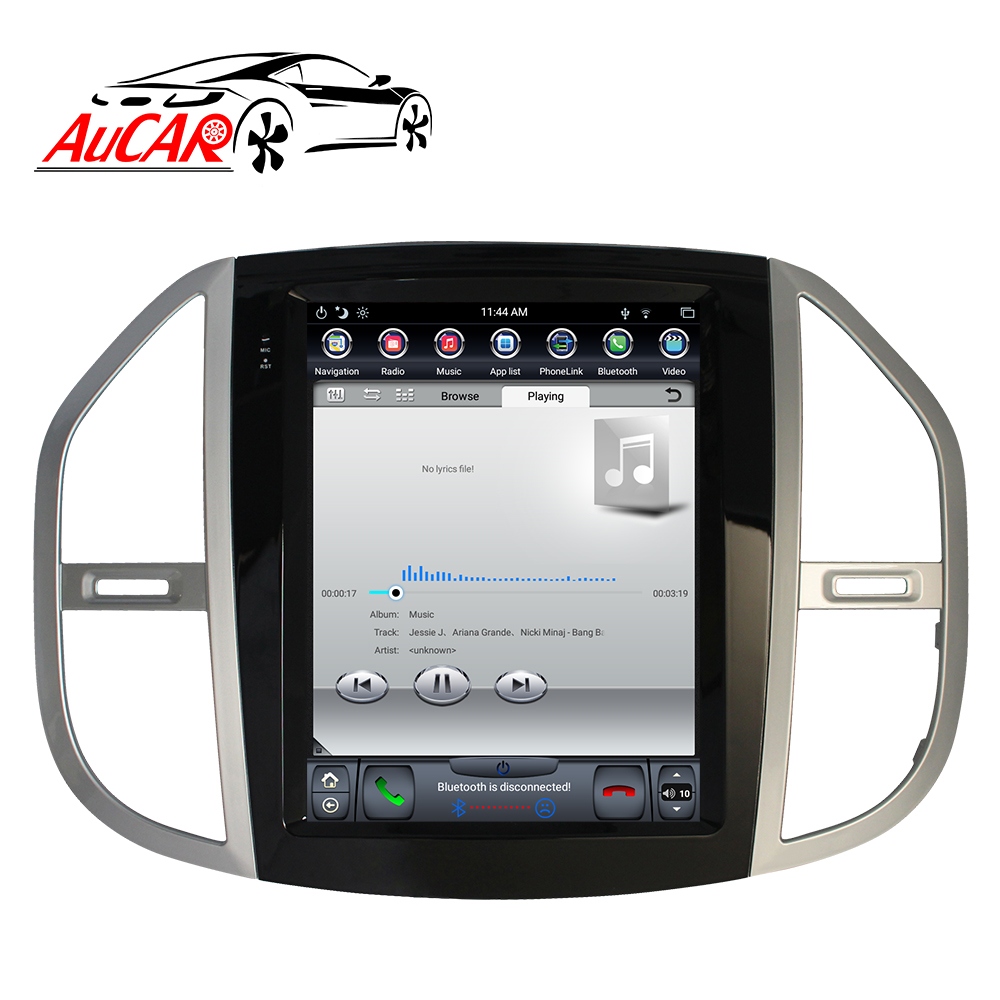 <font><b>Android</b></font> 8.1 Tesla Style 2 DIN 2DIN <font><b>1DIN</b></font> car radio for Mercedes Benz Vito 2016 2017 2018 <font><b>autoradio</b></font> HDMI car stereo <font><b>DVD</b></font> player IPS image