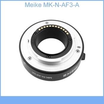 Meike MK-N-AF3-A Metal Auto Macro Focus AF Extension Tube for Nikon 1 Mount Camera J1 J2 J3 V1 V2