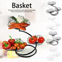 3 Layer Innovative Fruit Vegetable Storage Basket Fruit Basket Bowl Storage Fruit Holder Organizer Home Table Decoration Q161