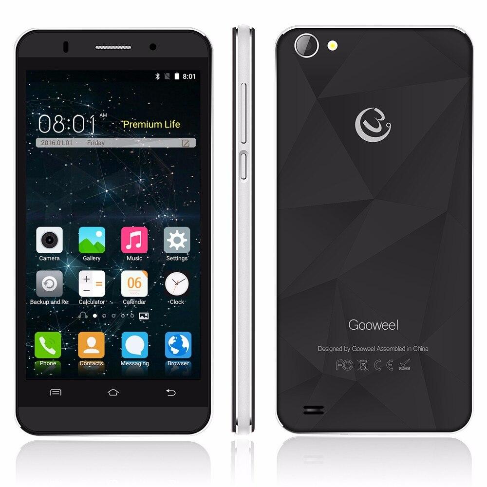 מקורי Gooweel M5 Pro smartphone MTK6580 quad core 5.0