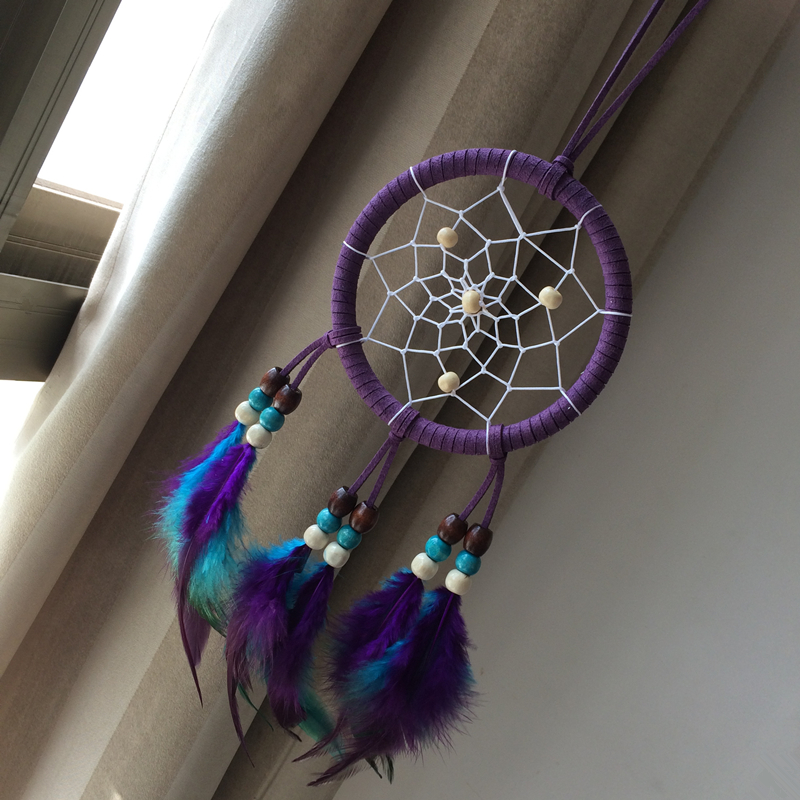 Dream Catcher Decor Indian Freather Decoración del hogar
