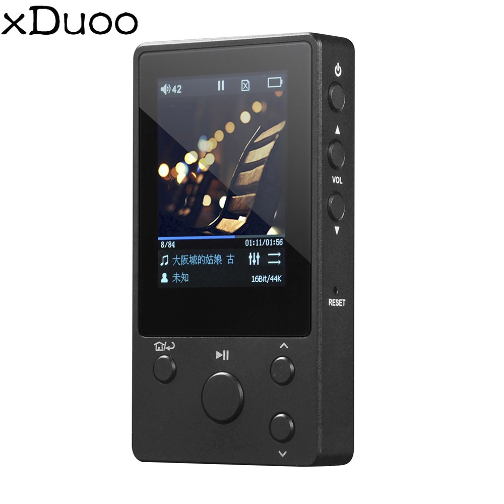 xDuoo Music MP3 NANO D3 HiFi Lossless Music Player with HD OLED Screen Support APE/FLAC/ALAC/WAV/WMA/OGG/MP3 asd aigo mp3 108 high quality 8g portable audio lossless hifi music player support ape flac wma wav ogg acc mp3