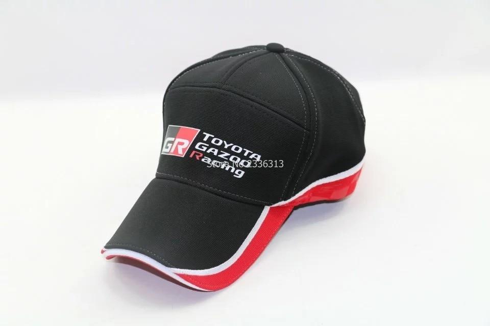 Prix pour Nouveau style toyota casquette de baseball F1 moto gp Broderie cap moto course camion chapeaux Snapback