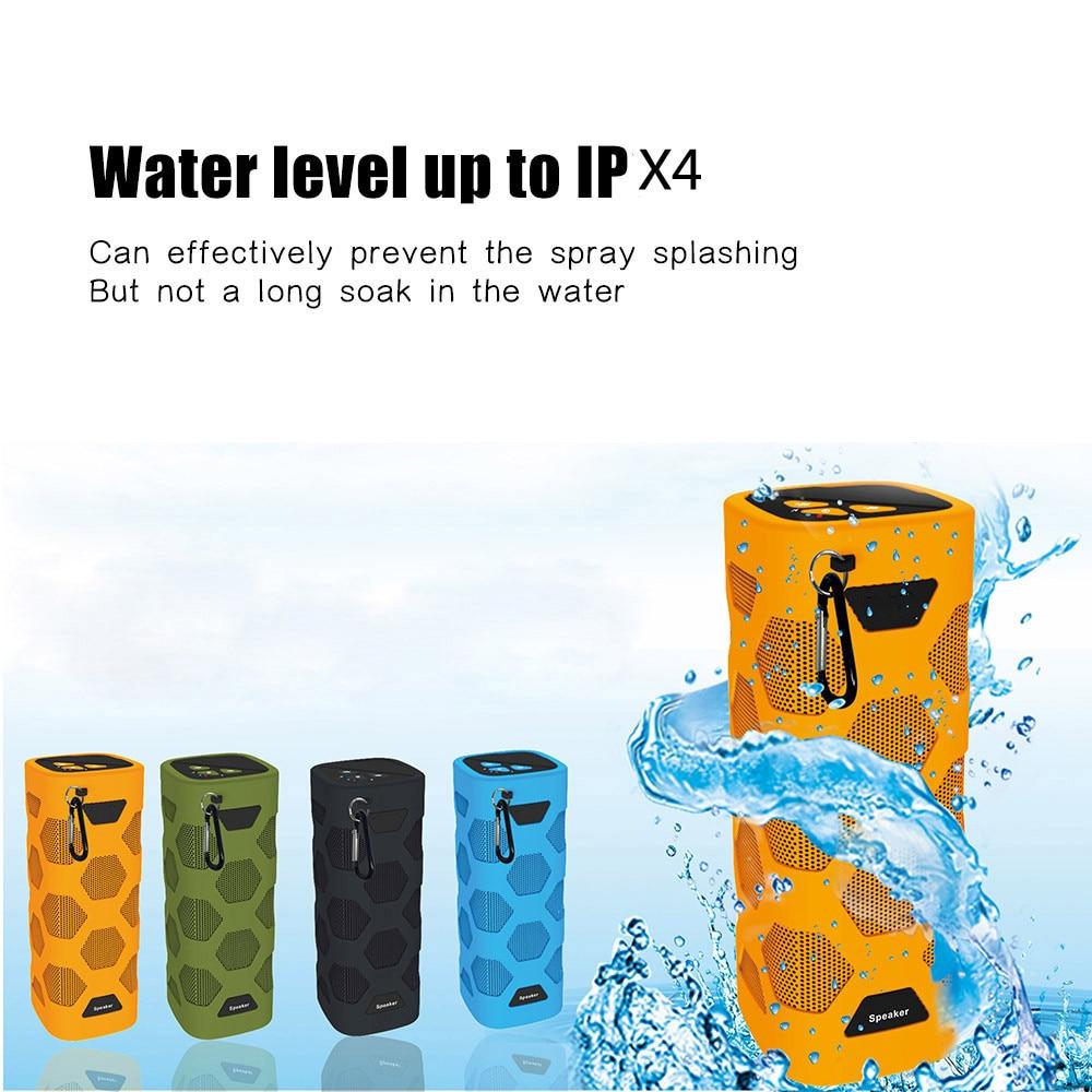 Haut-parleur portatif extérieur sans fil avec la puissance Mobile de NFC trois Anti résistance à l'eau de haut-parleur