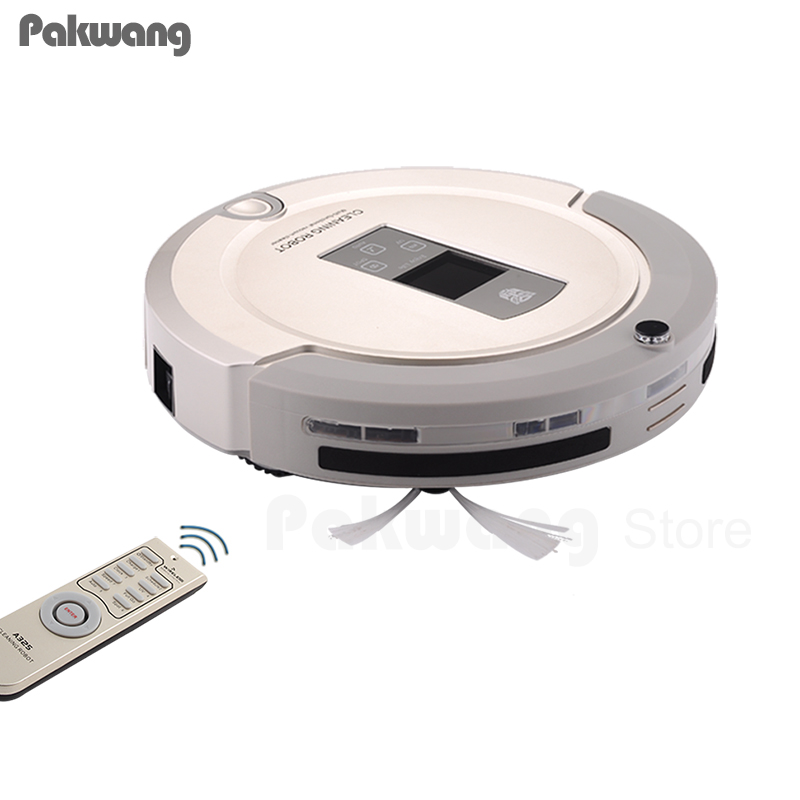 Pakwang Vacuum Cleaner Robot A325 With UL Sterilizer Mop, Virtual Space Isolator Wall, Remote Control, Self Recharge Station Rob