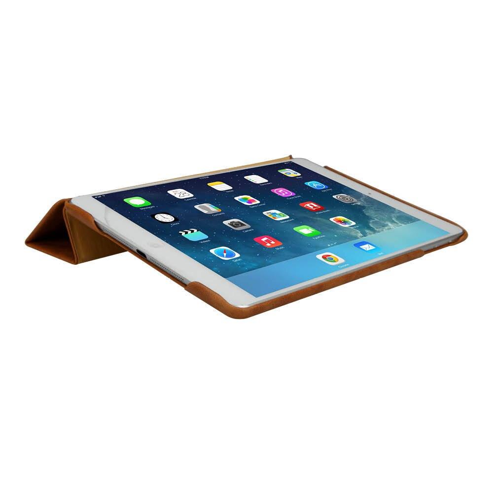 Jisoncase balik kasus untuk ipad air 1 ipad air 2 smart cover mewah - Aksesori tablet - Foto 2