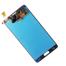 ทดสอบ LCD สำหรับ Samsung Galaxy Note 4 N910 จอแสดงผล Touch Screen Digitizer ASSEMBLY N910A N910F N910H + (China)