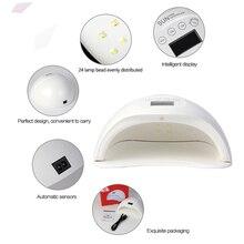 Dorame SUN5 PLUS 48W UV Lamp Dual UV LED Nail Dryer Nail Lamp Gel Polish Curing