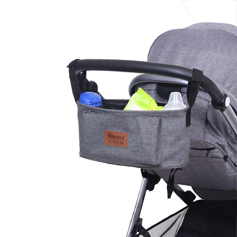 stroller organiser stroller bag hanging basket baby storage bag stroller accessories diaper bag. Black Bedroom Furniture Sets. Home Design Ideas